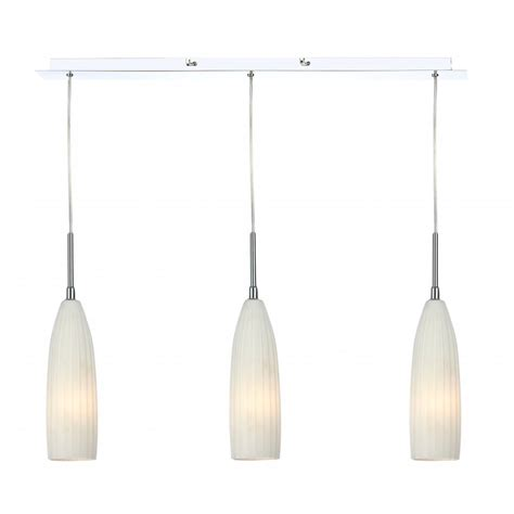 3 Pendant Ceiling Light Contemporary 3 Light Ceiling Pendant Bar With White Glass