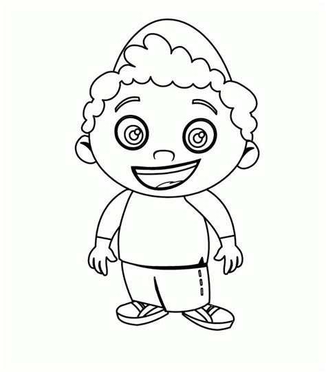 little bill coloring pages az coloring pages
