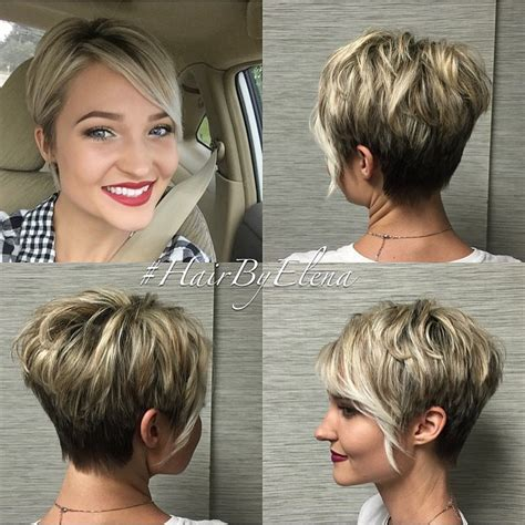fake hair highlights for pixie cuts 20 bold and gorgeous asymmetrical pixie cuts blonde