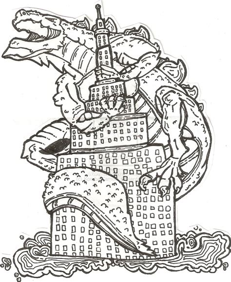 godzilla 2 coloring pages godzilla coloring pages to download and print for free