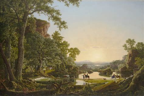 Landscape New Ct Connecticut S Historic Image Painted By Frederic Church