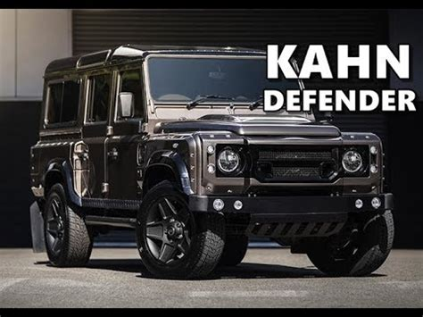 kahn land rover defender 110 kahn land rover defender 110 xs youtube