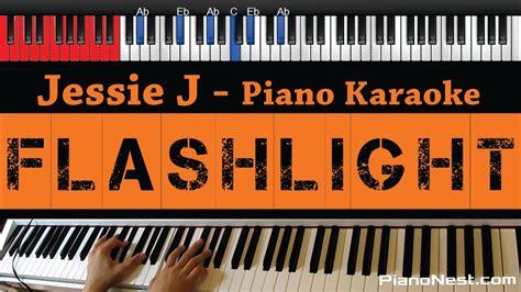 jessie j karaoke jessie j flashlight higher key piano karaoke sing
