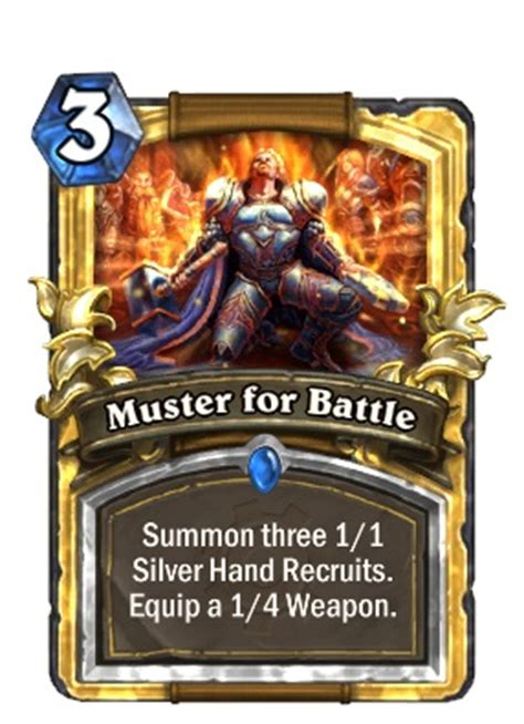 Muster For Battle Top 10 Changing Hearthstone Cards Page 3 Of 3 Cogconnected