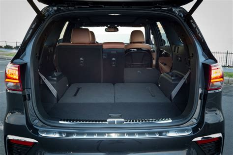 kia sorento cargo space 2019 kia sorento cargo space and passenger space