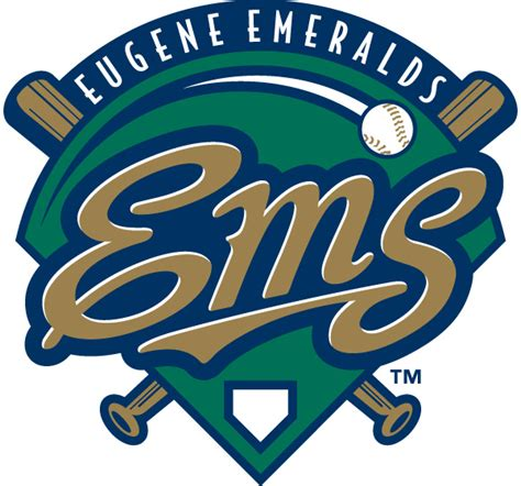 Home Design Eugene Oregon Eugene Emeralds Logo Free Illustrator Vector File Logo