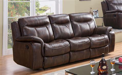 Fabric Reclining Sofa Sets Braylon Black Reclining Sofa Loveseat Set In Leather Like Fabric