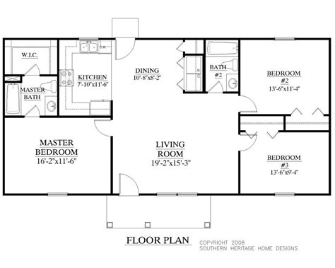 split floor plans best ranch house plans fresh plan ranch style small house bedroom split plans faceto idolza