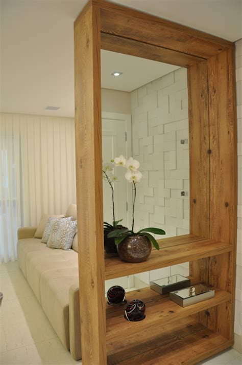 beautiful  practical ideas  wooden partitions