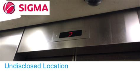 Elevator Sigma Sigma Traction Elevators In Bangkok