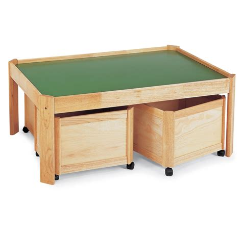 Play Table With Drawers by Multi Storage Bin For Children In S A
