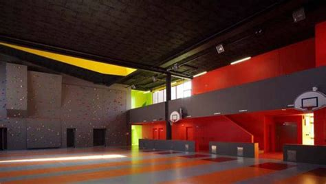 Interior Youth Basketball by Colorful Youth Center Interior Decor Iroonie