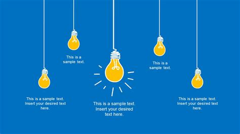Hand Drawn Light Bulb Template For Powerpoint Slidemodel Light Template