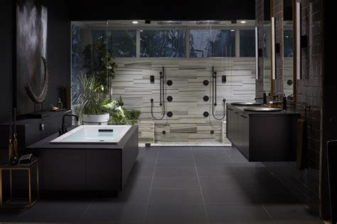 kohler bathroom ideas midnight canopy bathroom kohler ideas