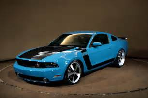 Black Mustang With Grabber Blue Stripes How Difficult Would This Be 70 Boss Theme Mustangforums Com