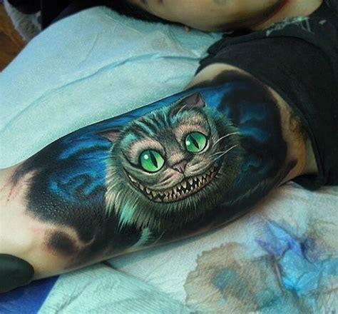 cheshire tattoo 21 disney tattoos you d to