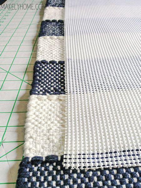 using a rug pad eith a bath mat how to create a non slip bath mat from a cotton rug bath