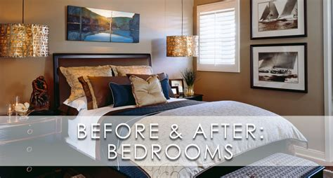 Classic Sophisticated Bedroom Before And After San Diego Designer Bedroom Designs