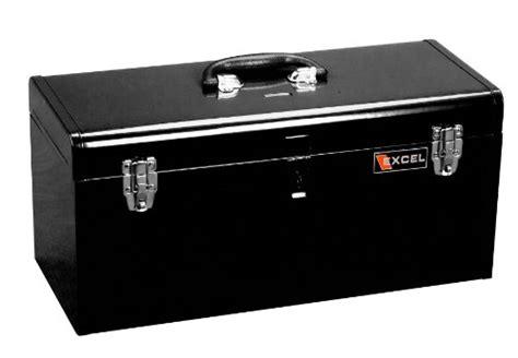 New Kenmaster B400 Tool Box excel tb140 black 20 inch portable steel tool box black new ebay