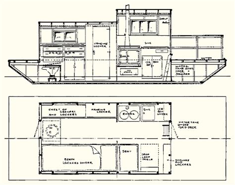 houseboat blueprints shanty boat boat builder porn