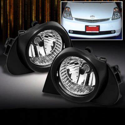 2005 prius led brake light toyota highlander 2004 2007 clear oem style fog lights kit