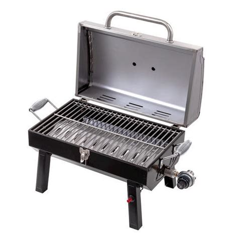 table top grill gas char broil 174 stainless steel table top gas grill at menards 174