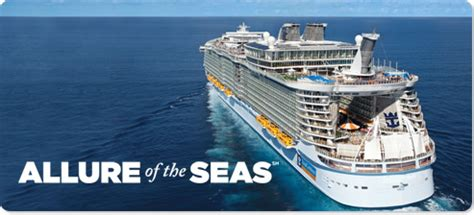 Allure of the seas allure of the seas will set sail packed full of