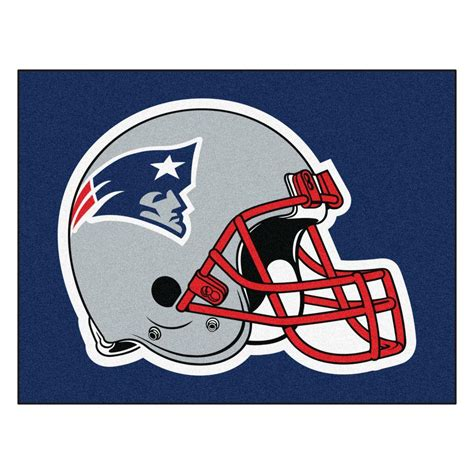 Patriots Area Rug Fanmats New Patriots 5 Ft X 6 Ft Tailgater Rug 5801 The Home Depot