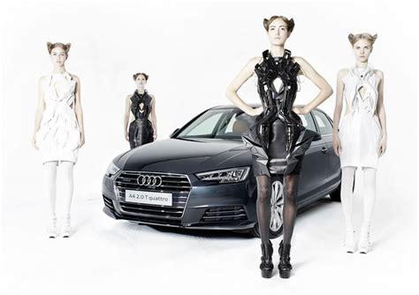 audi 3d printed car futuristic 3d printed dresses that are made from audi car