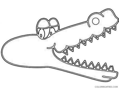 alligator mouth coloring page alligator mouth open zgwanw coloring coloring4free com