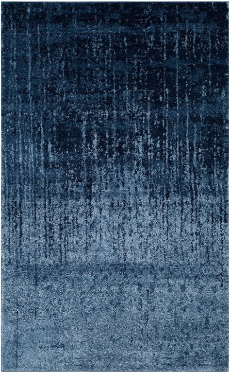 blue retro rug retro rugs collection safavieh