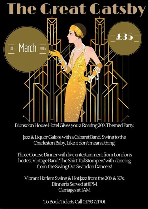 Great Flyer Ideas great gatsby flyer front cover my illustrations in real