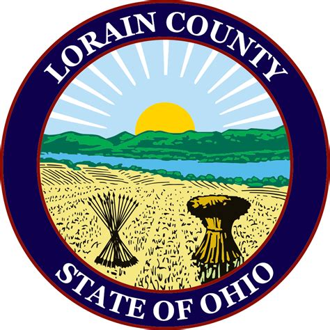 Lorain County Ohio Search File Seal Of Lorain County Ohio Svg