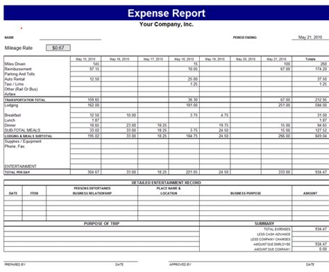 Monthly Expense Report Beneficialholdings Info Revenue And Expense Report Template
