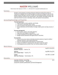 Accounting Clerk Resume Sles 2012 Best Accounting Clerk Resume Exle Livecareer