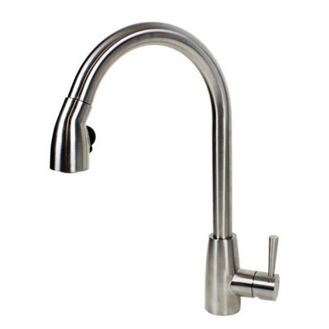 emodern decor ariel single handle kitchen faucet with pull