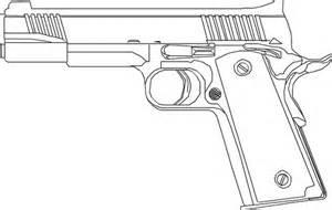 dibujos im 225 genes y dise 241 os de pistolas para colorear y