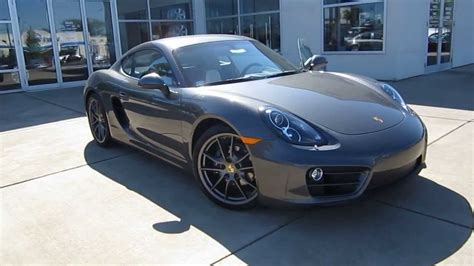 porsche cayman 2015 grey 2014 porsche cayman agate gray stock 109252 youtube