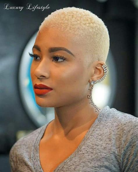 black lady with short natural platinum hair 20 short hairstyle ideas for black women 2017 royal heads