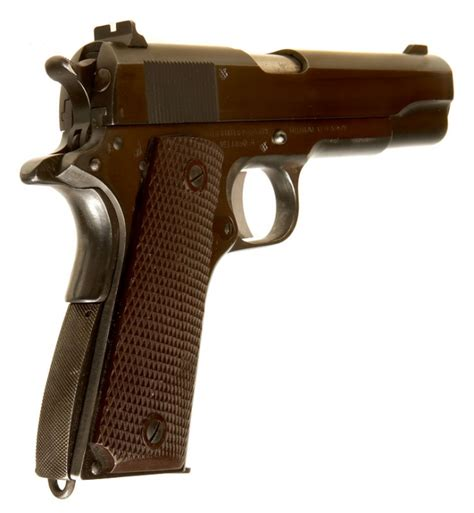 deactivated wwii colt 1911a1 pistol allied deactivated