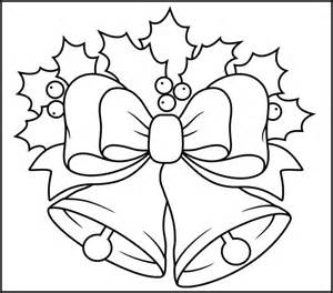 christmas bells printable coloring page coloring pages