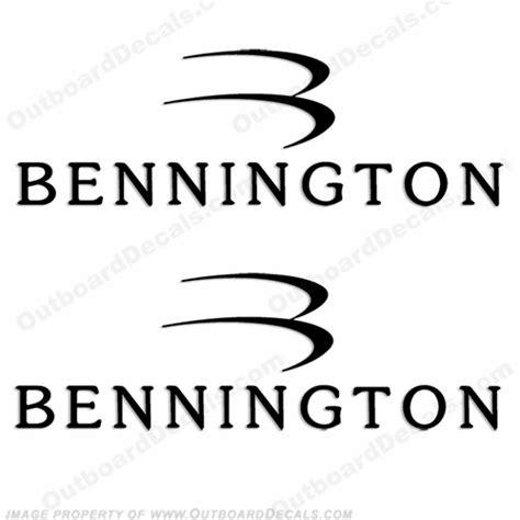 pontoon boat decals stickers bennington decals