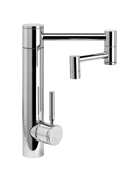 waterstone hunley kitchen faucet w 12 quot articulated spout