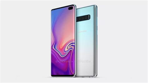 Samsung Galaxy S10 Galaxy S10 Leak Shows Samsung S Flagship Out In The