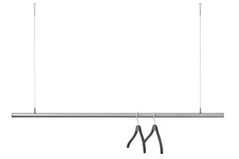 schwebende kleiderstange freih 228 ngende garderobenstange kleiderstange airjust