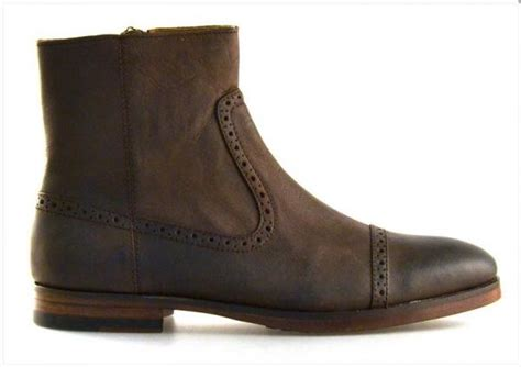 polo dress boots polo ralph demonte dress boots brown perforated