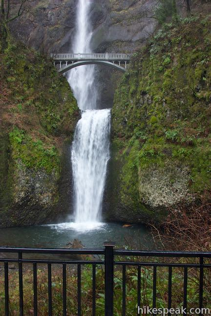 multnomah falls trail oregon hikespeakcom