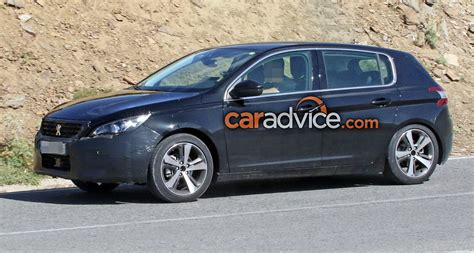 peugeot sedan 2017 2017 peugeot 308 facelift spied photos 1 of 9