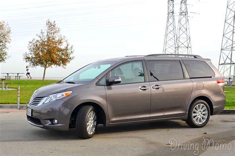 Toyota Minivan 2014 2014 Toyota Makes Driving A Minivan A Thing