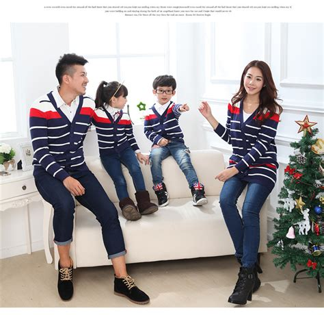 family clothes 2018 2015 fashion autumn winter family clothing sets men s